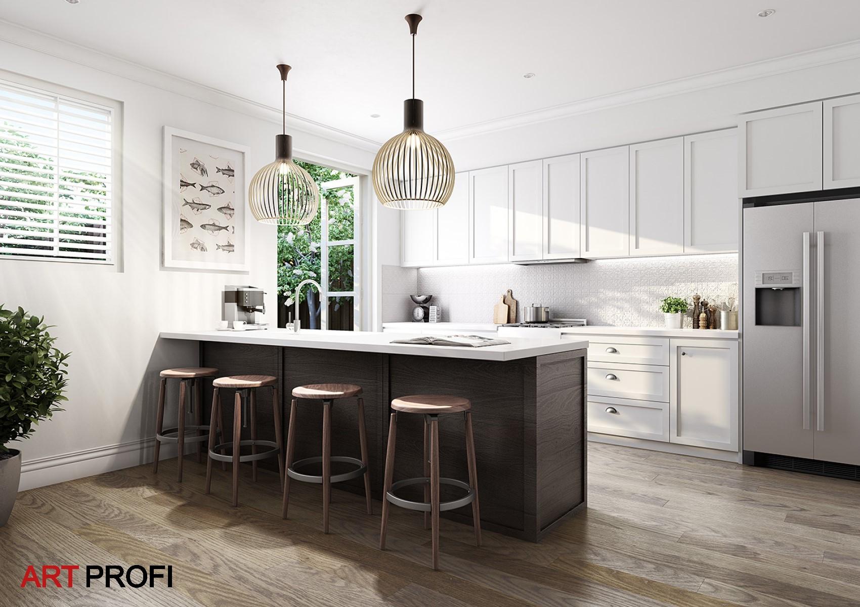 Дизайн интерьера. Дизайн кухни.