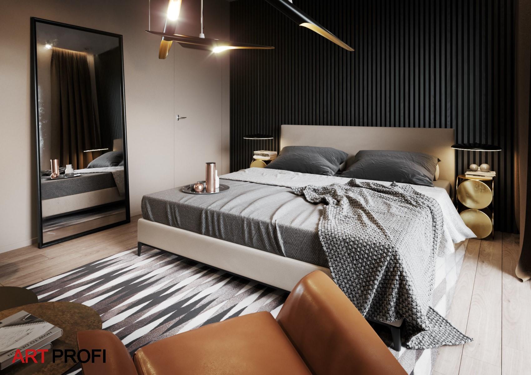 Дизайн интерьера. Дизайн спальни.