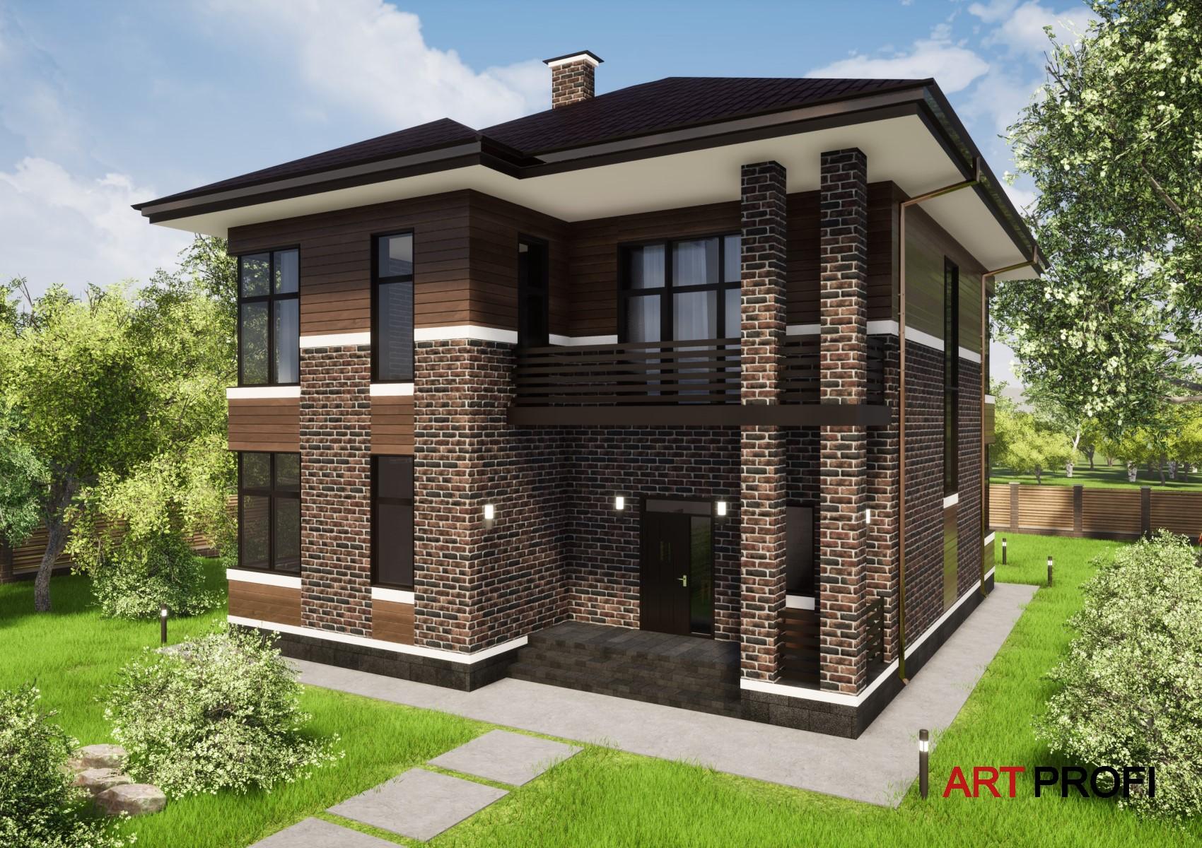 Проекты домов и коттеджей. Проект дома Райта.